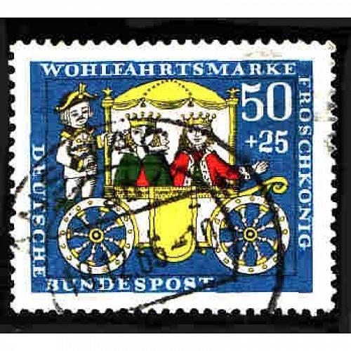 German Used Scott #B421 Catalog Value $.80
