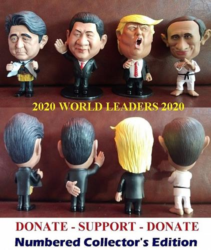 WORLD LEADERS LIMITED EDITION-SUPPORT 2020-$5.00 donated to FOLDS OF HONOR each sale