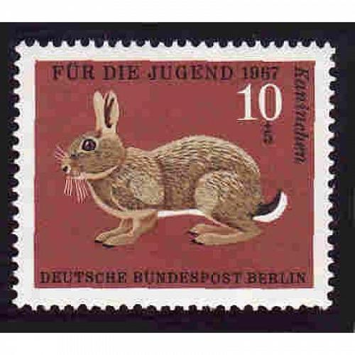 German MNH Scott #B422 Catalog Value $.25