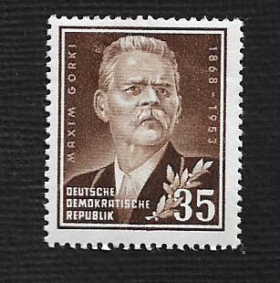 German DDR Hinged Scott #147 Catalog Value $.40