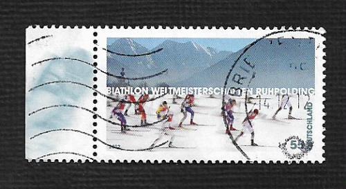 German Used Scott #2656 Catalog Value $.75