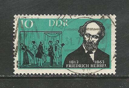 Germany DDR Used Scott #648 Catalog Value $.25