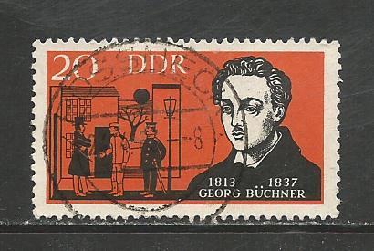 Germany DDR Used Scott #649 Catalog Value $.25
