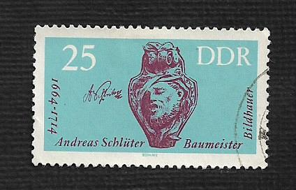 German DDR Used Scott #689 Catalog Value $.25