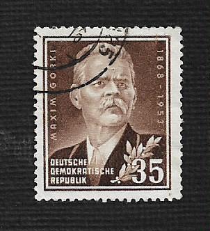 German DDR Used Scott #147 Catalog Value $.40