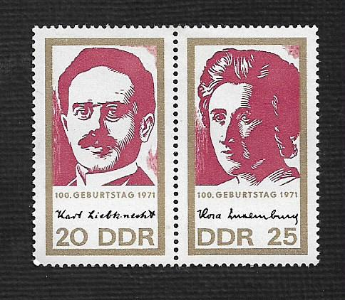 German DDR MNH Scott #1277a Catalog Value $.85