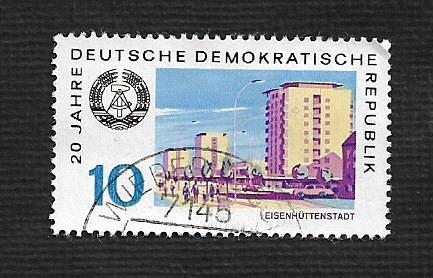 Germany DDR Used Scott #1132 Catalog Value $.25