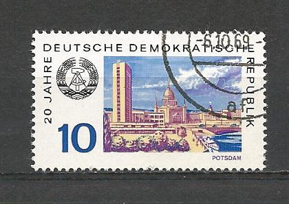 Germany DDR Used Scott #1131 Catalog Value $.25