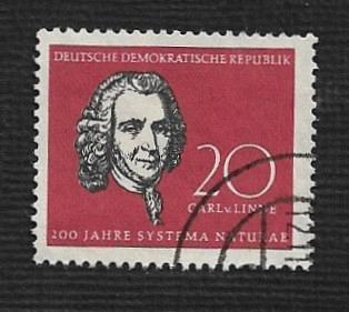 Germany DDR Used Scott #389 Catalog Value $.25