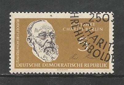 German DDR Used Scott #520 Catalog Value $.25