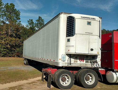 2010 Great Dane CTL 114-11053 Thermo King Reefer Trailer