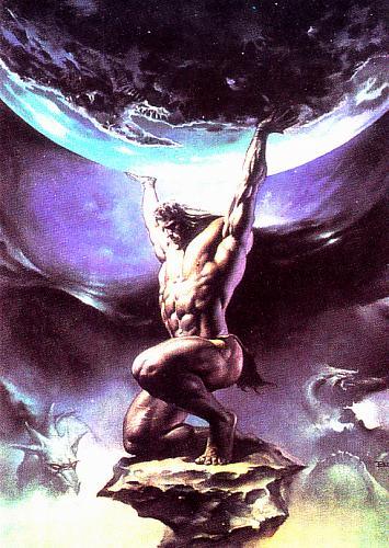 Atlas #85 - Boris 1991 Fantasy Art Trading Card