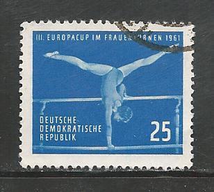 German DDR Used Scott #557 Catalog Value $3.75