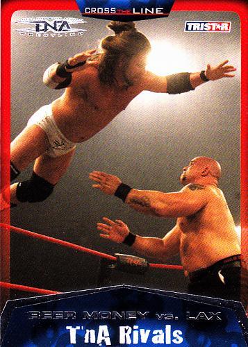 Beer Money vs. Lax #98 - TNA 2008 TriStar Wrestling Trading Card