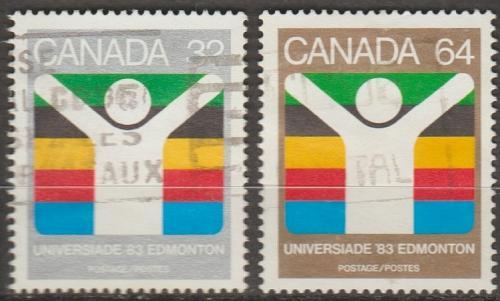 [CA0981] Canada: Sc. no. 981-982 (1983) Used Full Set