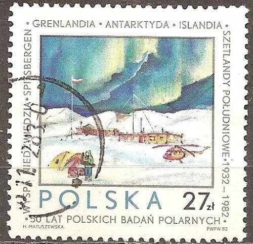 [PO2581] Poland: Sc. no. 2581 (1982) Used Single