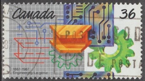 [CA1134] Canada: Sc. no. 1134 (1987) Used Single