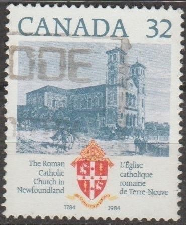 [CA1029] Canada: Sc. no. 1029 (1984) Used Single