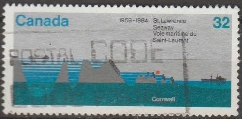 [CA1015] Canada: Sc. no. 1015 (1984) Used Single
