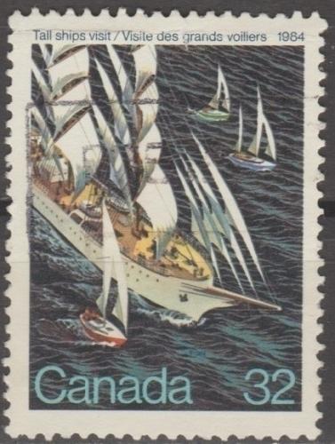 [CA1012] Canada: Sc. no. 1012 (1984) Used Single