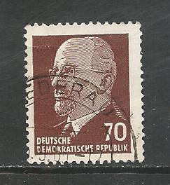 German DDR Used Scott #590 Catalog Value $.25