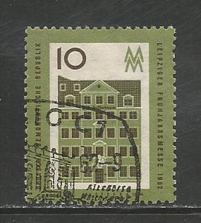 German DDR Used Scott #595 Catalog Value $.25