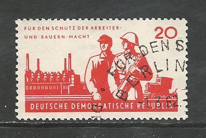 German DDR Used Scott #600 Catalog Value $.25