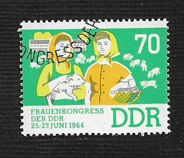 German DDR Used Scott #705 Catalog Value $.25
