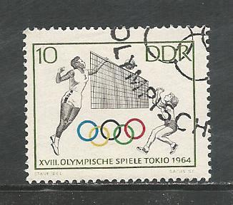 German DDR Used Scott #707 Catalog Value $.25
