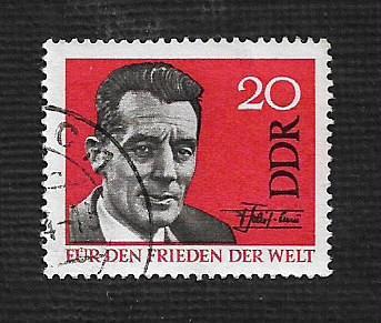 German DDR Used Scott #716 Catalog Value $.25