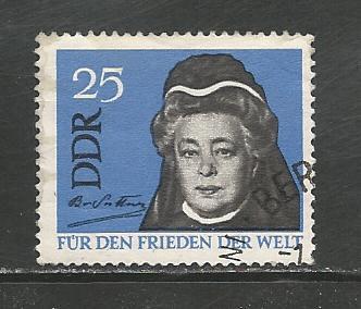 German DDR Used Scott #717 Catalog Value $.25