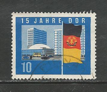 German DDR Used Scott #725 Catalog Value $.30