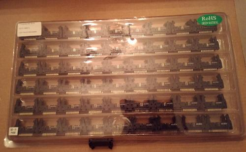 Lots of 108: Keltron FHC2000S-A-G-FI 20 Position Headers :: FREE Shipping