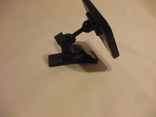 Black Plastic Clip On Rearview Mirror To Survey Kids In The Back Seat