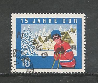 German DDR Used Scott #738 Catalog Value $.30