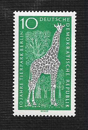German DDR MNH Scott #759 Catalog Value $.25