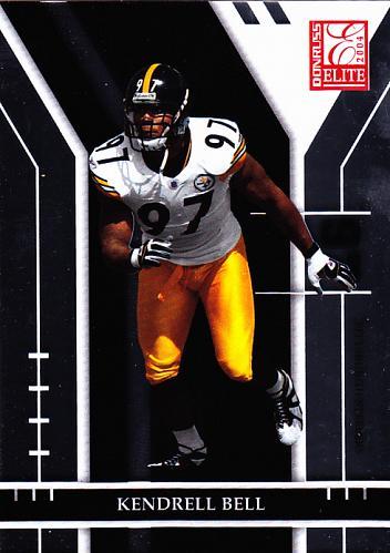 Kendrell Bell #77 - Steelers 2004 Donruss Football Trading Card