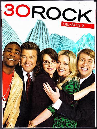 30 Rock - Complete 2nd Season DVD 2008, 2-Disc Set - Very Good