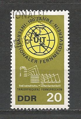 German DDR Used Scott #771 Catalog Value $.25