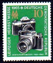 German DDR Hinged Scott #785 Catalog Value $.25