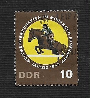 German DDR Used Scott #789 Catalog Value $.25