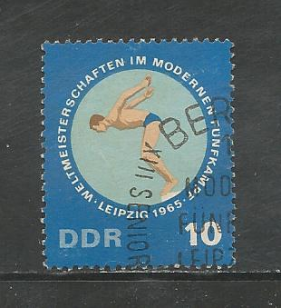 German DDR Used Scott #790 Catalog Value $.25