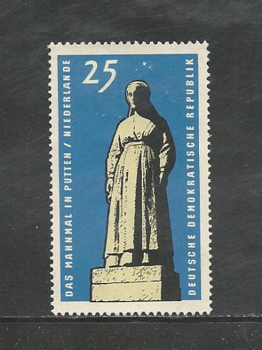 German DDR Hinged Scott #795 Catalog Value $.60