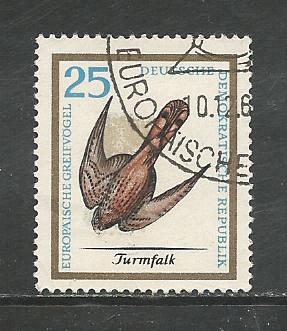 German DDR Used Scott #803 Catalog Value $.25