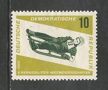 German DDR Hinged NG Scott #808 atalog Value $.25
