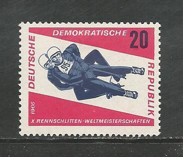German DDR Hinged Scott #809 atalog Value $.25