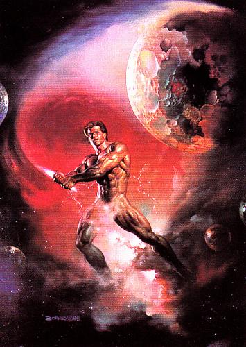 Hammer Throw #80 - Boris 1991 Fantasy Art Trading Card