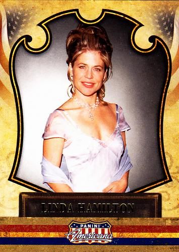Linda Hamilton #4 - Panini Americana 2011 Trading Card