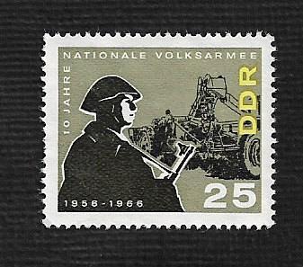 German DDR MNH Scott #818 Catalog Value $.85