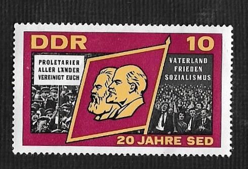 German DDR MNH Scott #826 Catalog Value $.25